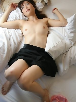 Koto enjoys taking off her clothes and teasing horny guys like a little slut