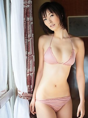Nao Nagasawa hot Asian model with perky breasts